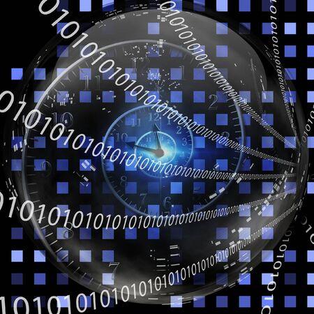 Binary Clock Reklamní fotografie