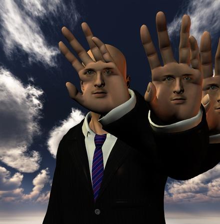 phantasy: Phantasy Human Stock Photo
