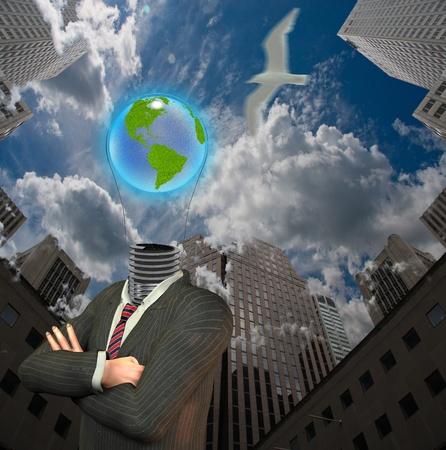 City Earth Idea photo