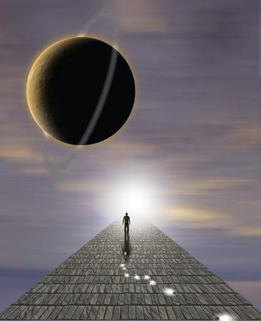 Mans reis van de ziel