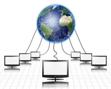 worldwideweb: World Wide Web Panel piatto collegato