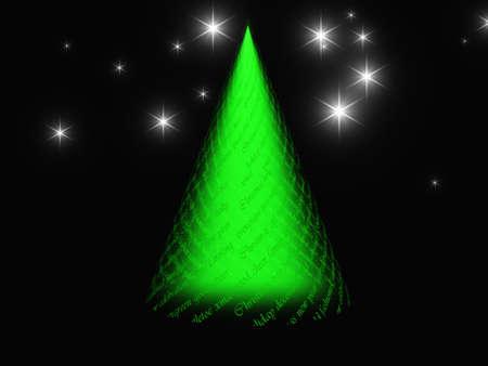 Xmas tree design Stock Photo - 11016521