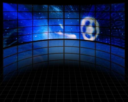 Video Screens Фото со стока