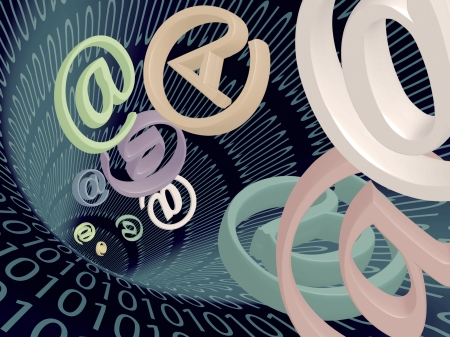 high speed internet: Email