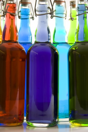 Color Bottles  photo