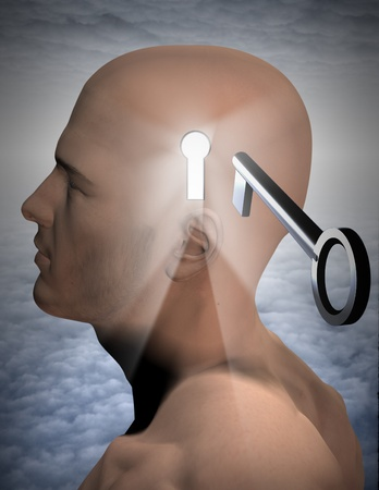 open minded: Key to mind