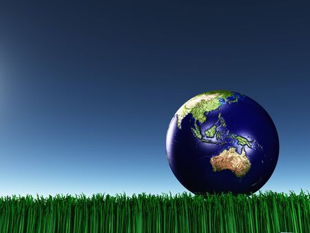australasia: Australasia on grass