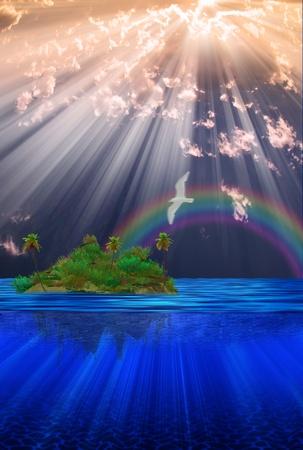 isla flotante: Isla flotante