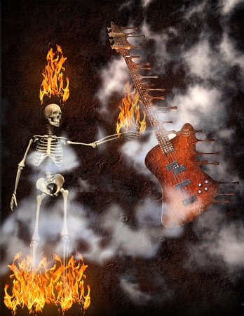 Guitar Fire  photo