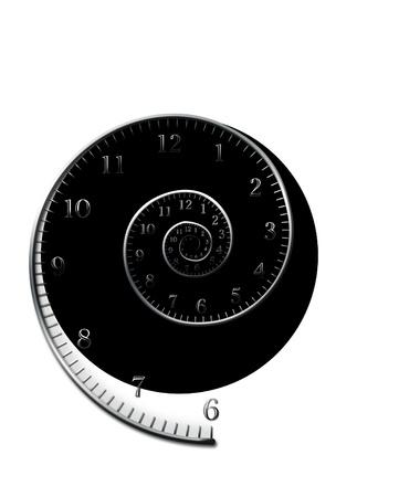 spiral_for_clock Stockfoto