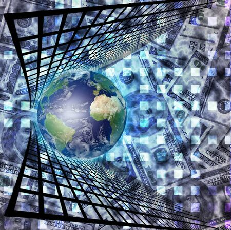 world market: World Market Stock Photo