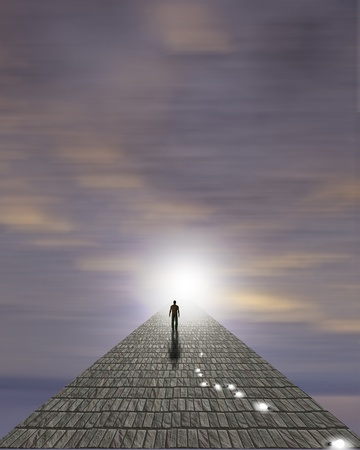 Mans Journey of the Soul photo