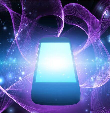 smart phone: Smart Phone Stock Photo
