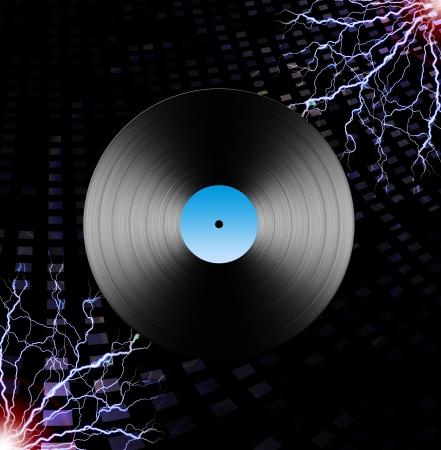 Electric LP Archivio Fotografico