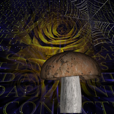 hallucinate: Halloween Abstract Stock Photo