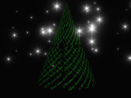 Xmas tree design Stock Photo - 11799889