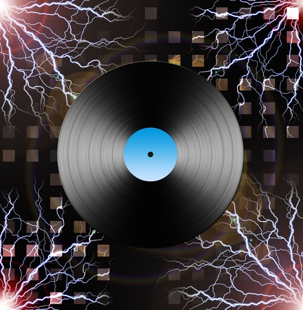Electric LP Stock Photo - 11799935