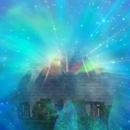 concept magical universe: Myst