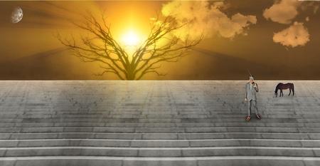 Stairway Landscape photo