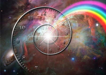 Time space Stock Photo - 12427590