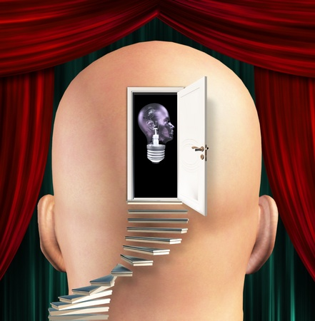 perceptive: Mente Mans ha aperto per la salute umana lampadina