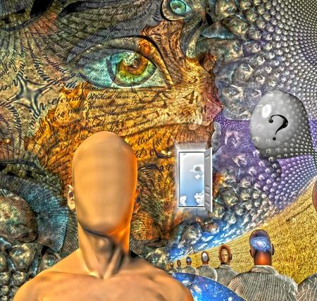 imaginacion: Sue�o de la humanidad como escenario en el organinc ventanas