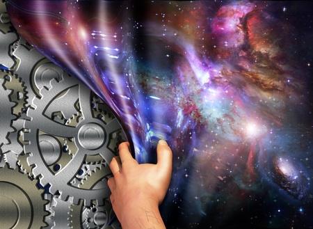 creador: Maquinaria bajo el espacio-tiempo reveló