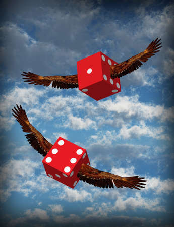 Winged Dice photo