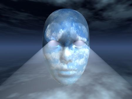 percepción: Cara Surrealista
