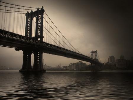 NYC Bridge Stock Photo - 12784374