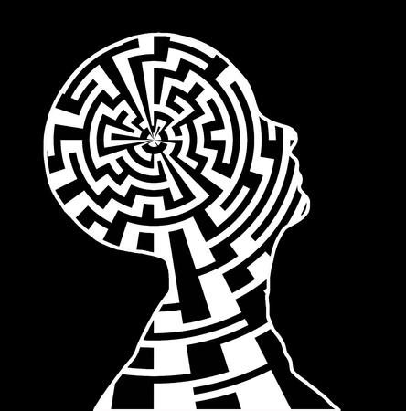 Maze geest Stockfoto