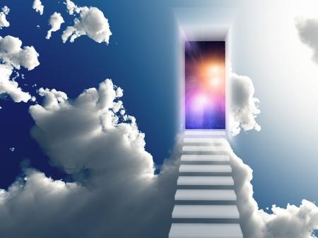 abriendo puerta: Abrir la puerta