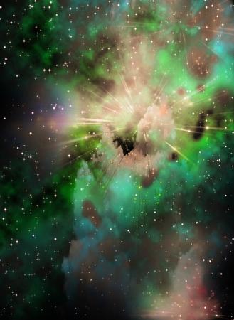 stratosphere: Space Stock Photo