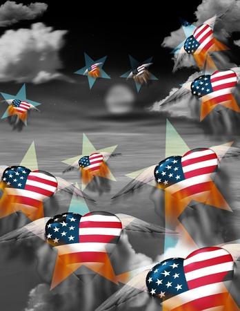 naciones unidas: Composición EE.UU. Foto de archivo