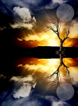 nightfall: Sunrise Stock Photo