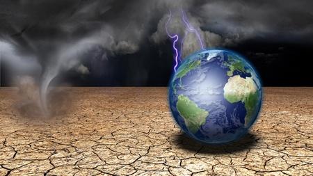 사막의 지구 스톡 콘텐츠