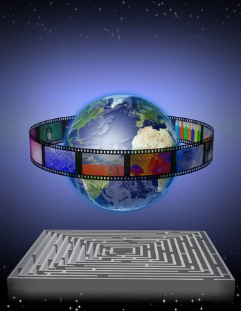 digital distribution: World Film with Maze