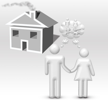 imagines: Couple Imagines family Stock Photo