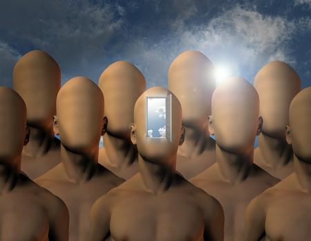 Mind opening photo