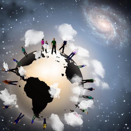 ser humano: Tierra público