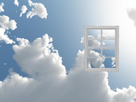 Window in de hemel