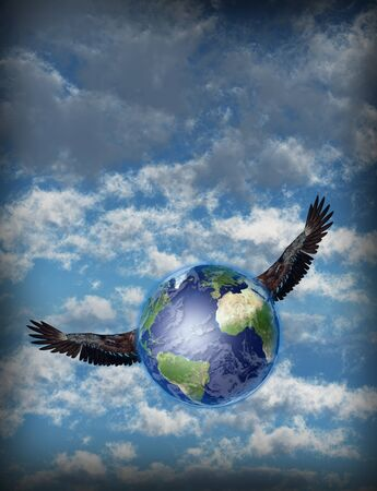 clean air: Winged Earth