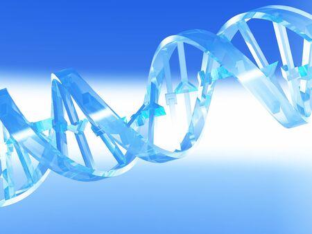 human chromosomes: DNA Strand
