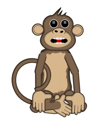 conversational: Smart Monkey explains his point to viewer