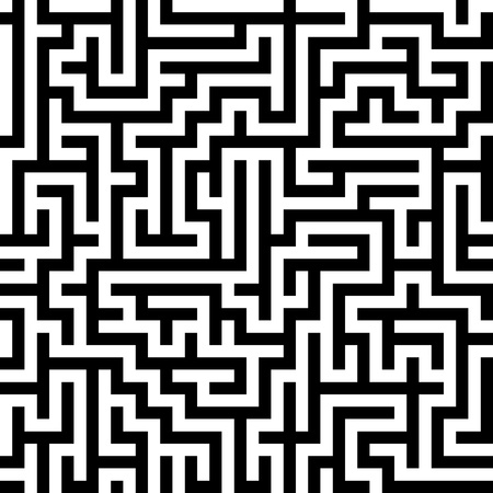 Seamlessly repeatable Maze Stock fotó