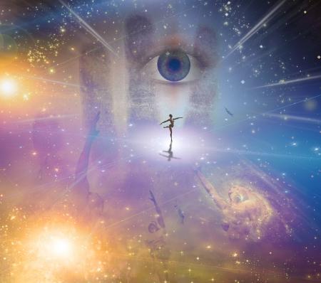 energia espiritual: Danza de la luz