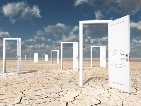 dryness: The Doors