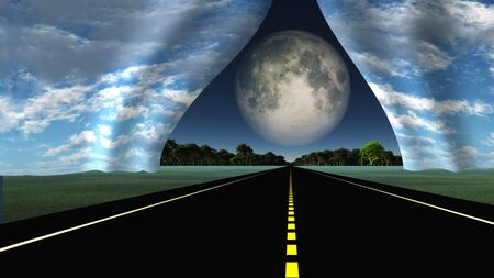 reveal: Road leads into rip in fabric of reality