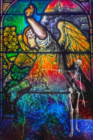 antichrist: Apocaliptic composition Stock Photo