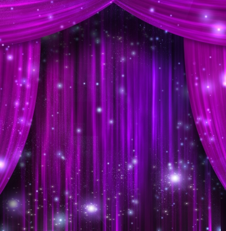 concert audience: Theater Curtains